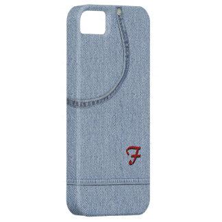Vaqueros con inicial iPhone 5 Case-Mate carcasas