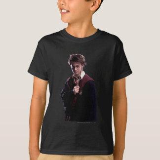 Vara de Harry Potter aumentada Camiseta