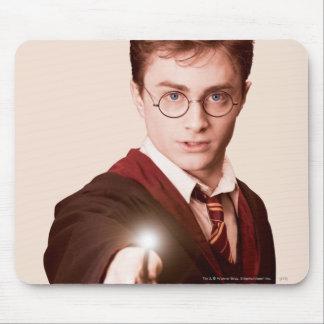 Vara de los puntos de Harry Potter Alfombrilla De Ratón