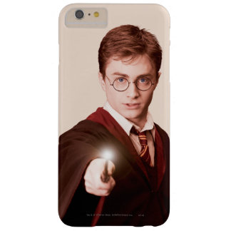 Vara de los puntos de Harry Potter Funda Barely There iPhone 6 Plus