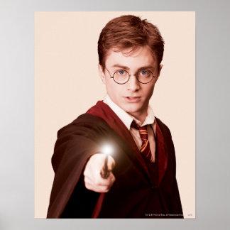Vara de los puntos de Harry Potter Posters