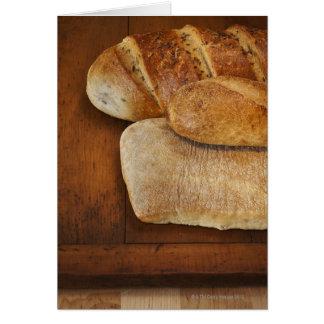 Variación de la repostería y pastelería tarjeton
