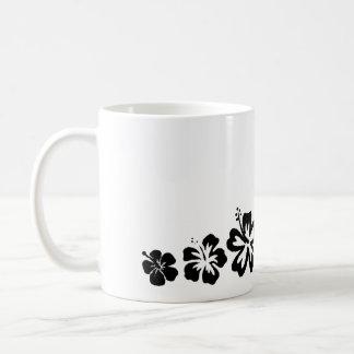 Variedad de taza del diseño del negro de las