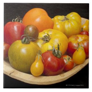 Variedad de tomates azulejo