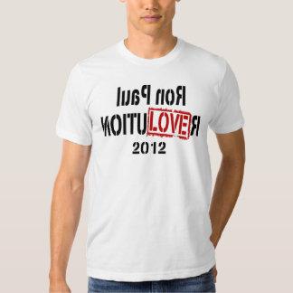 Varón 2012 de la camiseta de la revolución de Ron