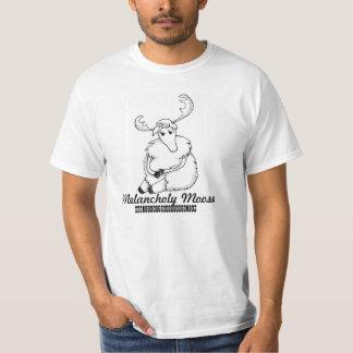 Varón melancólico de los alces/camiseta media camiseta