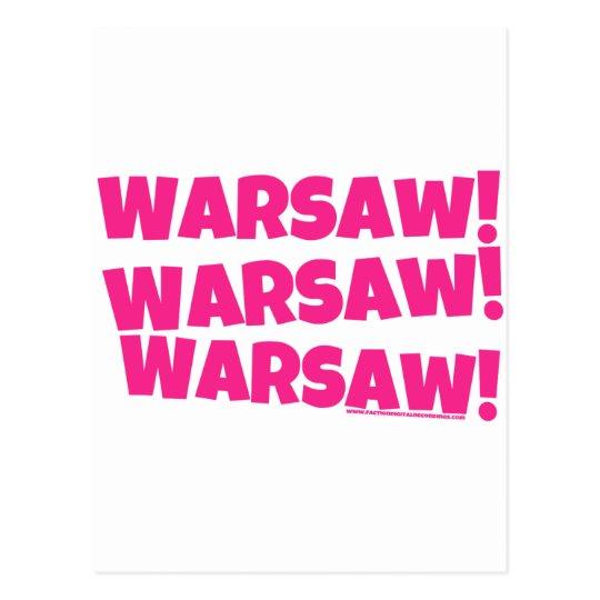 ¡Varsovia! Postal