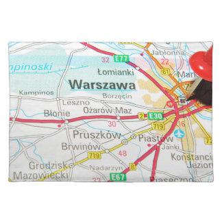 Varsovia, Varsovia en Polonia Salvamanteles