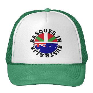 Vascos en el logotipo de Australia, Gorros Bordados