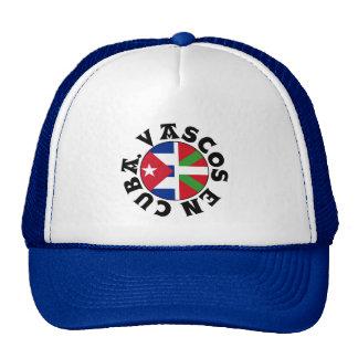 Vascos en el logotipo de Cuba, Gorra