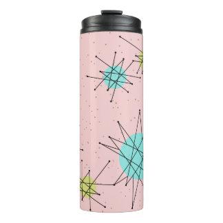 Vaso atómico icónico rosado la termal de