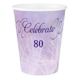 Vaso De Papel 80.o Tazas de papel de encargo de la fiesta de