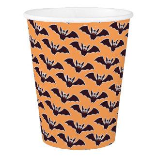 Vaso De Papel El feliz Halloween golpea las tazas de papel