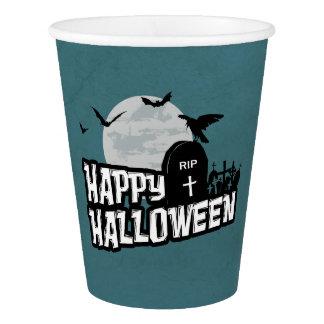 Vaso De Papel Feliz Halloween