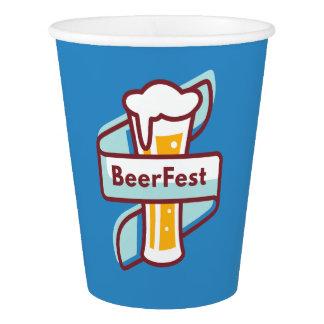 Vaso De Papel Festival de Oktoberfest Beerfest