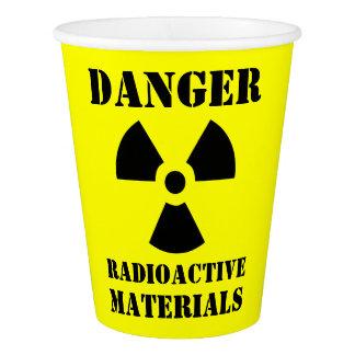 Vaso De Papel Materiales radioactivos divertidos Halloween