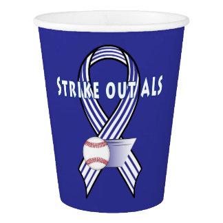 Vaso De Papel Pegue hacia fuera el ALS lateral de la esclerosis