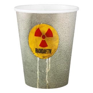 Vaso De Papel radiactivo