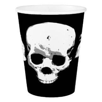 Vaso De Papel Taza de papel de los cráneos espeluznantes