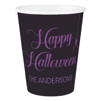 Vaso De Papel Taza de papel del feliz Halloween adaptable