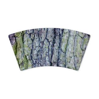 Vaso De Papel Taza de papel: Diseño de la corteza de árbol