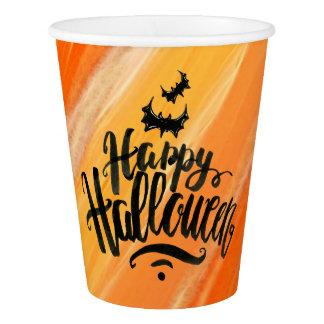 Vaso De Papel Taza de papel elegante del feliz Halloween el | de