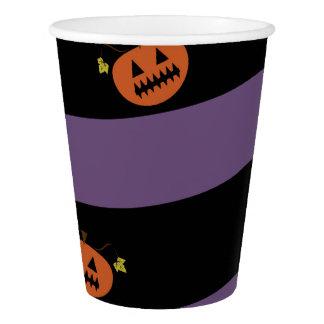 Vaso De Papel Taza del fiesta de Halloween