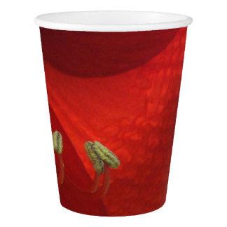 Vaso De Papel Tazas de papel de la fiesta de Navidad roja del