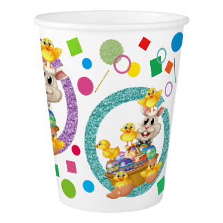 Vaso De Papel Tazas de papel de Pascua de las mercancías