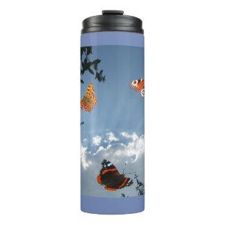 Vaso holandés de las mariposas