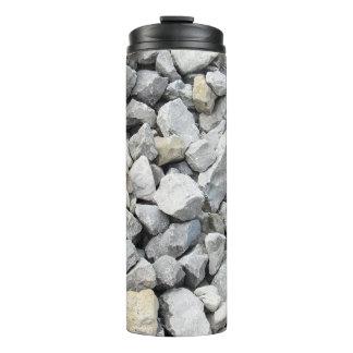 Vaso la termal del rap del rasgón de la piedra