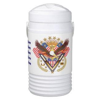 Vaso refrigerador del iglú del veterano - medio termo