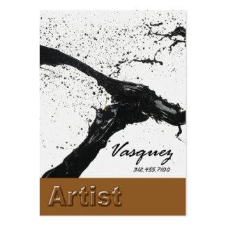 Vasquez - ilustrador intrépido del pintor del tarjetas de visita grandes