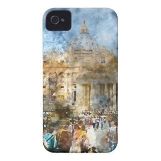 Vatican en Roma Italia Carcasa Para iPhone 4