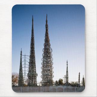 Vatios de torres Los Ángeles Alfombrilla De Ratón