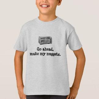 Vaya a continuación hacen mis pepitas - horno camiseta
