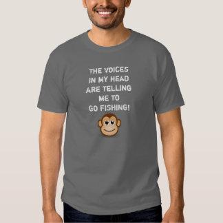 Vaya a pescar - camiseta - a los hombres