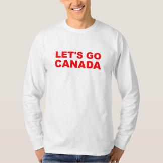"""¡""""Vayamos camisa olímpica de Canadá""""!"""