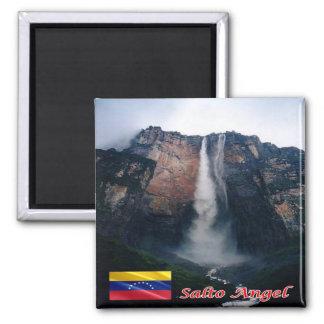 VE - Venezuela - ángel de Salto Imán Cuadrado