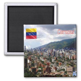 VE - Venezuela - Caracas Imán Cuadrado