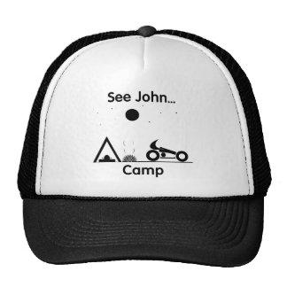 Vea el campo de Juan… (blanco) Gorra