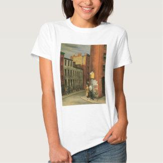 Vea en la calle de las cámaras, New York City C. Camiseta