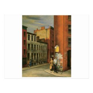 Vea en la calle de las cámaras, New York City C. Postal