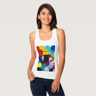 Vea la belleza en cada uno las camisetas sin