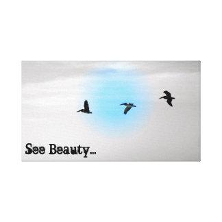 vea la lona de la belleza varar la impresión