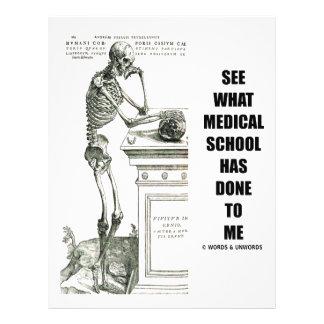 Vea lo que ha hecho la Facultad de Medicina a mí ( Tarjeta Publicitaria