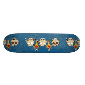 vea ningún, oiga ningún, no hable ningún mono del  patinetas personalizadas