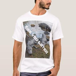 Véale camiseta posterior del cocodrilo