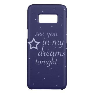 """""""véale en texto de mis sueños esta noche"""" con las funda de Case-Mate para samsung galaxy s8"""