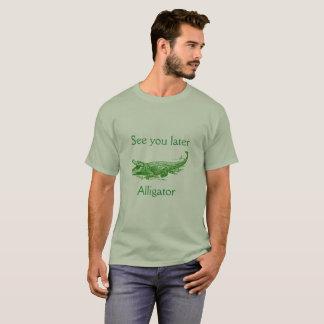 Véale más adelante, camisa del cocodrilo